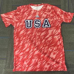 adidas Red USA Shock Shirt
